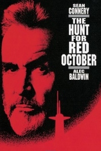 Poster van 'The Hunt for Red October' © 1990
