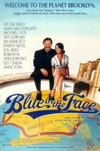 poster 'Blue in the Face' © 1995 Miramax