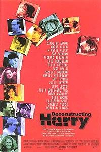 Poster van 'Deconstructing Harry' © 1997 Concorde Film