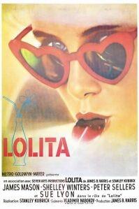 Poster van 'Lolita' © 1962 Anya Productions