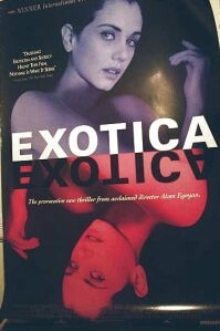 Poster van 'Exotica' © 1994 Hungry Eyes Pictures