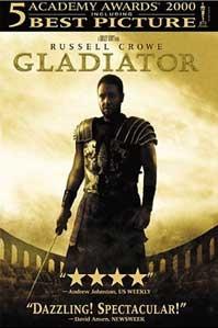 poster 'Gladiator' © 2000 DreamWorks en Universal Studios