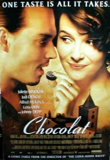 Chocolat poster, © 2000 Recorded Cinematographic Variety