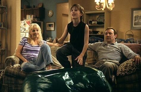 Helen Hunt, Haley Joel Osment en Kevin Spacey. (c) 2000 Warner Brothers