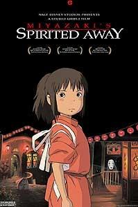 Poster van 'Spirited Away' © 2003 Paradiso Film