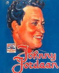 Poster met Johnny Jordaan