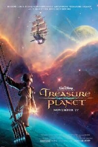 Poster 'Treasure Planet' © 2002 BVI