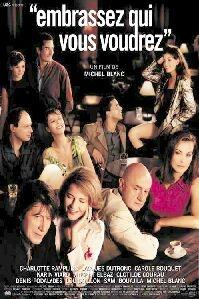 Poster 'Embrassez qui vous voudrez' © 2002