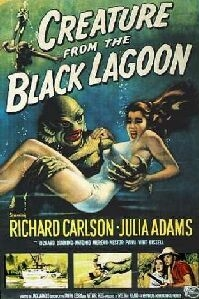 Poster 'Creature from the Black Lagoon' © 1954