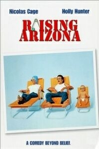 Poster 'Raising Arizona' © 1987