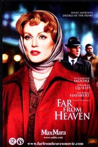 Poster van 'Far from Heaven' © 2003 Paradiso