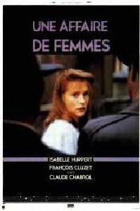 Poster 'Une Affaire de Femmes' © 1988