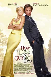 Poster 'How to Lose a Guy in 10 Days' © 2003 UIP