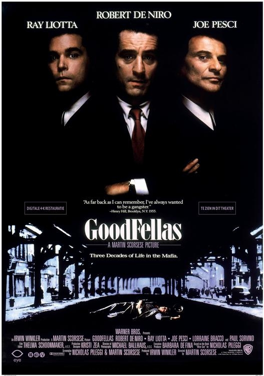 Poster 'Goodfellas' © 1990