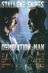 poster 'Demolition Man' © 1993 Silver Pictures
