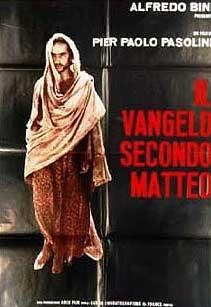 poster 'Il Vangelo Secondo Matteo' © 2003 Cinemien