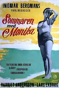 poster 'Sommaren med Monika' © 1953