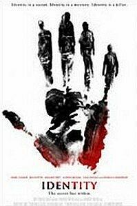poster 'Identity' © 2003 Columbia TriStar Film