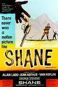 poster 'Shane' © 2003 Filmmuseum