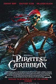poster van 'The Pirates of the Caribbean' © 2003 BVI