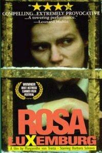 poster 'Rosa Luxemburg' © 1986