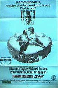 originele filmposter 'Hammersmith Is Out' © 2003 cineposters.com