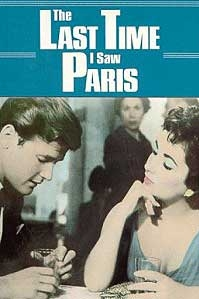 poster 'The Last Time I Saw Paris' © 1954