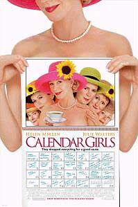 poster 'Calendar Girls' © 2003 Buena Vista International