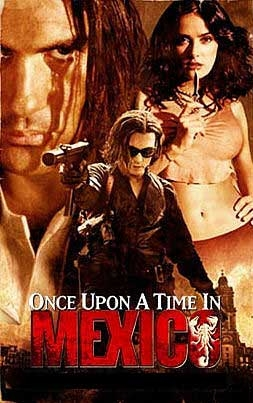 poster 'Once Upon a Time in Mexico' © 2003 Buena Vista International