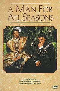 dvd-hoes 'A man for all Seasons' © 1966
