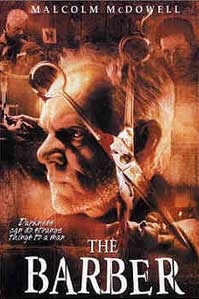 poster 'The Barber' © 2001 Indies