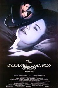 poster 'The Unbearable Lightness of Being' © 2000 Orion Pictures