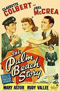 poster 'The Palm Beach Story' © 1942
