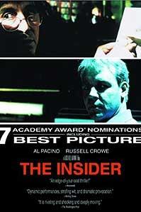 poster 'The Insider' © 1999 Buena Vista International