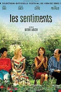 poster 'Les Sentiments' © 2003