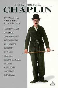 poster 'Chaplin' © 1992 Columbia TriStar