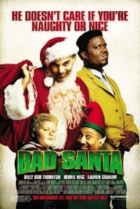 poster 'Bad Santa' © 2003 RCV Film Distribution