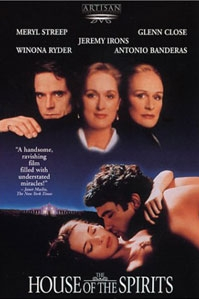 poster van 'The House of the Spirits' © 1993 Miramax Films