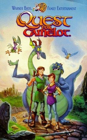 poster 'Quest for Camelot' © 1998 Warner Bros.