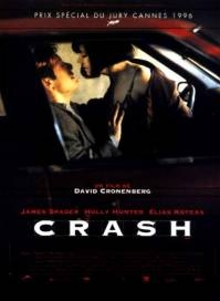 poster 'Crash' © 1996 Crash productions