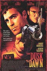 Clooney en Tarantino als de gebroeders Gecko © 1997 Concorde Film