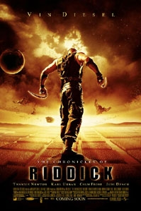 poster 'The Chronicles of Riddick' © 2004 United International Pictures (UIP)