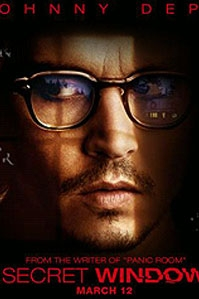 teaser poster 'Secret Window' © 2004 Columbia TriStar