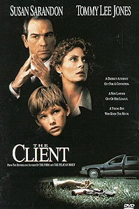 poster 'The Client' © 1994 Alcor Films