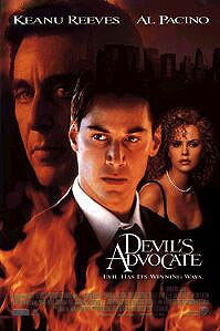 poster 'The Devil's Advocate' © 1995 Warner Bros.