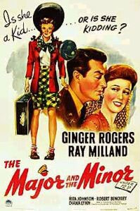 poster 'The Major and the Minor' © 1942 Paramount Pictures