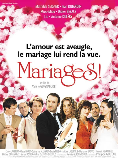 poster 'Mariages!' © 2004 Pan Européenne Distribution