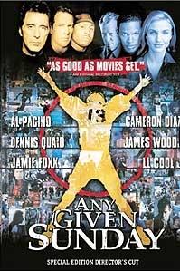 poster 'Any Given Sunday' © 1999 Warner Bros.
