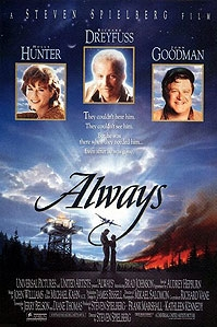 poster 'Always' © 1989 Amblin Entertainment