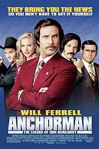 poster 'Anchorman' © 2004 DreamWorks SKG